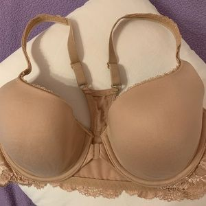 NWOT Body by Victoria lace front closure Racerback